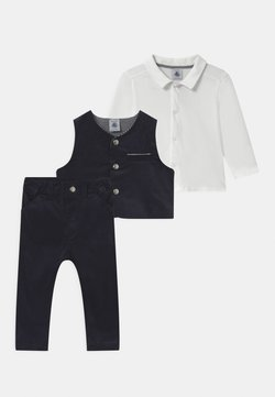 Petit Bateau - BABY ENSEMBLE SET - Anzugweste - dark blue/white