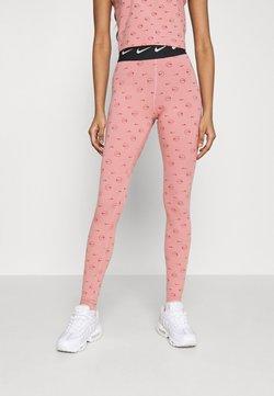 Nike Sportswear - PRINT PACK - Leggings - Hosen - rust pink/canyon rust