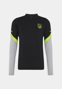 Nike Performance - ATLETICO MADRID DRY DRILL - Article de supporter - black/wolf grey/volt