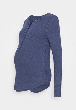 GAP Maternity - RELAX - Langarmshirt - elysian blue