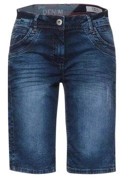 Cecil - Jeans Shorts - m blue denim