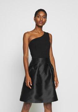 Esprit Collection - ONE SHOULDER - Cocktail dress / Party dress - black