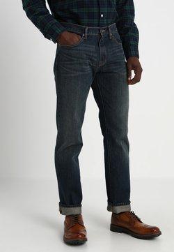 GAP - V-STRAIGHT AUTHENTIC - Straight leg jeans - dark blue