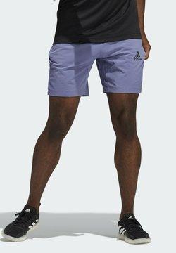 adidas Performance - Krótkie spodenki sportowe - purple