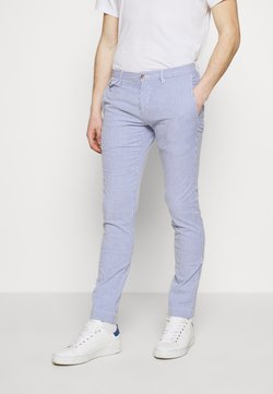 Polo Ralph Lauren - SLIM FIT BEDFORD PANT - Chinot - blue/white