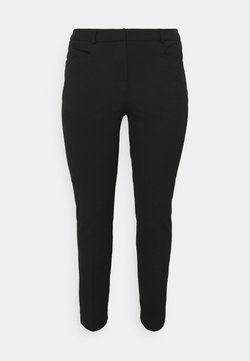 CAPSULE by Simply Be - EVERYDAY KATE SLIM LEG TROUSER - Stoffhose - black