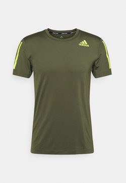 adidas Performance - Camiseta estampada - khaki