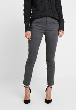 GAP - ANKLE BISTRETCH - Stoffhose - heather charcoal