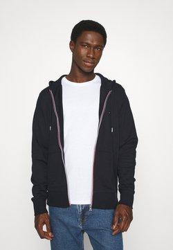 Tommy Hilfiger - CORE C ZIP HOODIE - veste en sweat zippée - blue