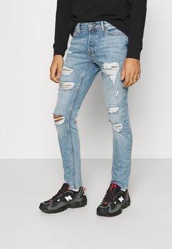 Only & Sons - ONSLOOM SLIM BLUE WASH - Slim fit jeans - blue denim