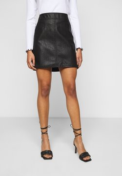 Dorothy Perkins Petite - POCKET MINI SKIRT - A-line skirt - black