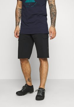 Triple2 - BARGUP OCEAN WASTE ECONYL® SHORT MEN - kurze Sporthose - anthracite