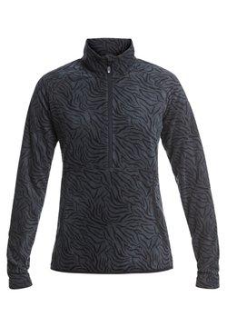 Roxy - CASCADE - Fleecepullover - true black zebra print