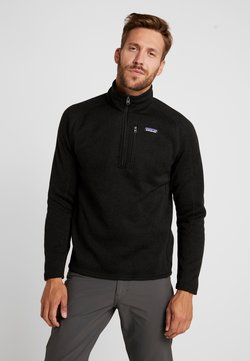 Patagonia - BETTER SWEATER ZIP - Fleecetröja - black