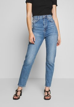 New Look - RIBCAGE JEAN - Straight leg jeans - mid blue