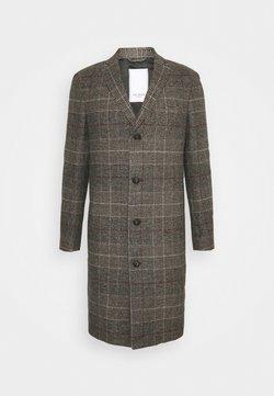 Les Deux - MADISON CHECK COAT - Wollmantel/klassischer Mantel - grey