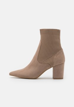 Nly by Nelly - BLOCK HEEL BOOT - Botki - nougate
