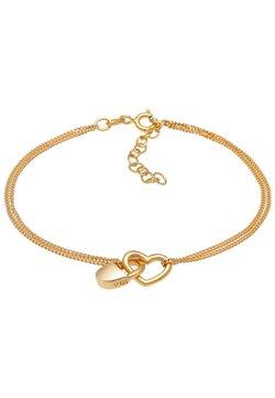 Elli - HEART LOCK - Armband - gold