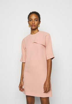 Victoria Victoria Beckham - DRAPE DETAIL SHIFT DRESS - Day dress - pink
