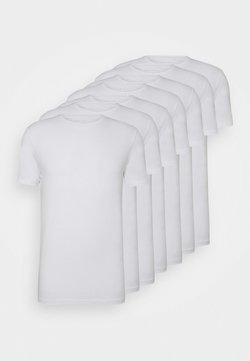 Pier One - 7 PACK - T-shirts - white