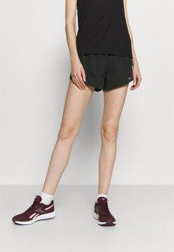 Reebok - 2-IN-1 SHORT - Pantalón corto de deporte - black