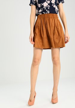 Moves - KIA - A-line skirt - cognac