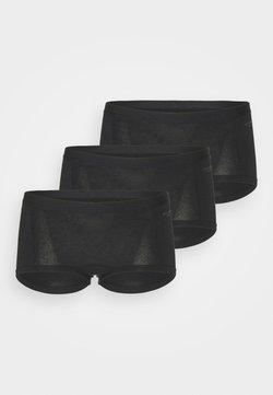 Björn Borg - SOLID MIA 3 PACK - Panties - black beauty