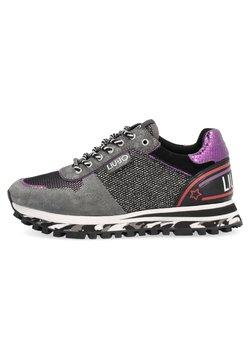 LIU JO - Sneakers basse - silver coloured