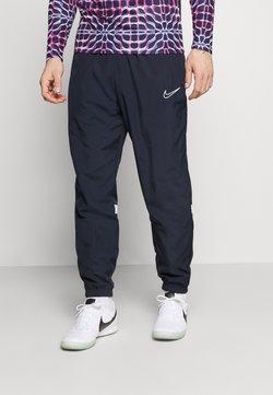Nike Performance - PANT - Pantalon de survêtement - obsidian/white