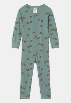 Lindex - ONESIES BABY SQUIRREL UNISEX - Pyjama - light dusty aqua