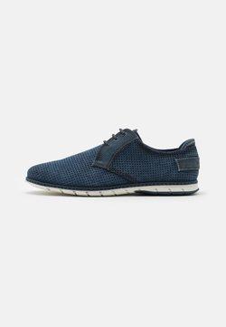 Bugatti - SILVAN - Sznurowane obuwie sportowe - blue