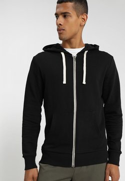 Jack & Jones - JJEHOLMEN - Sweatjacke - black/reg fit