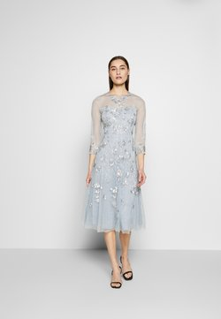 Adrianna Papell - BEAD COVERED - Vestido de cóctel - blue heather