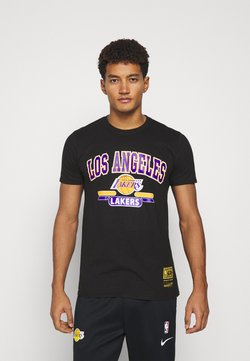Mitchell & Ness - NBA LA LAKERS ARCH LOGO TEE - Article de supporter - black