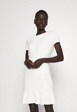 HUGO - KILANAS CLOQUE - Jerseykleid - natural