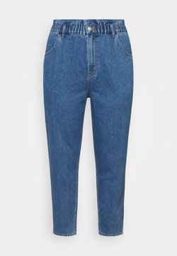 ONLY Carmakoma - CAROVE LIFE CARROT - Jeans relaxed fit - medium blue denim