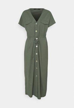 Vero Moda Tall - VMINAMARIA SS WIDE CALF DRESS - Maxikleid - laurel wreath
