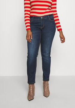 Zizzi - EMILY - Slim fit jeans - blue denim