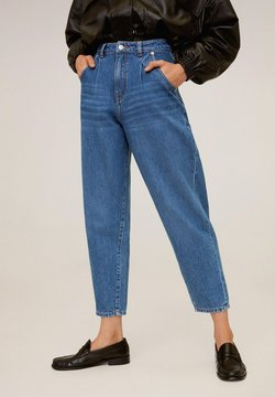 Mango - REGINA - Jeansy Straight Leg - mellemblå