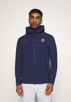 Nike Performance - PARIS ST GERMAIN HOODIE - Klubtrøjer - midnight navy/university red