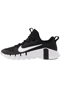 Nike Performance - FREE METCON 3 - Sports shoes - black/white