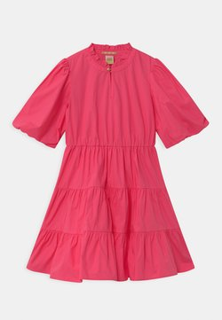 Scotch & Soda - CRISPY VOLUMINOUS SLEEVES - Cocktailkleid/festliches Kleid - toxic pink