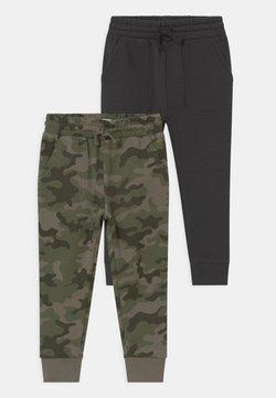 Cotton On - HERITAGE 2 PACK - Pantaloni sportivi - anthracite/khaki