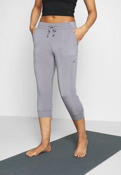 Curare Yogawear - PANTS - Pantalón 3/4 de deporte - pearl grey