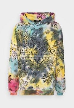 Jaded London - TIE DIE HOODIE - Jersey con capucha - multicoloured