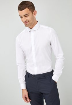 Next - SLIM FIT - Camicia elegante - white