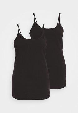 Anna Field Curvy - 2 PACK - Top - black