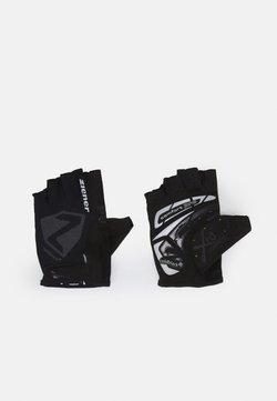 Ziener - CANSEN BIKE GLOVE - Kurzfingerhandschuh - black