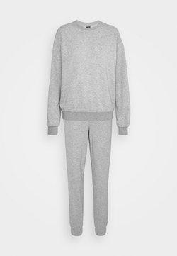 Vero Moda Tall - VMNATALIA SET  - Sweater - light grey melange