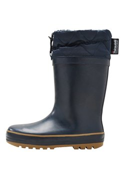 Next - CUFF WELLIES (OLDER BOYS) - Kumisaappaat - blue